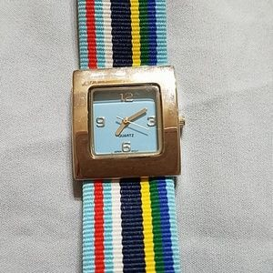 Accessories - Watch with multicolored band